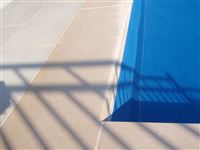 Indiana Limestone standard buff chamfered custom pool coping