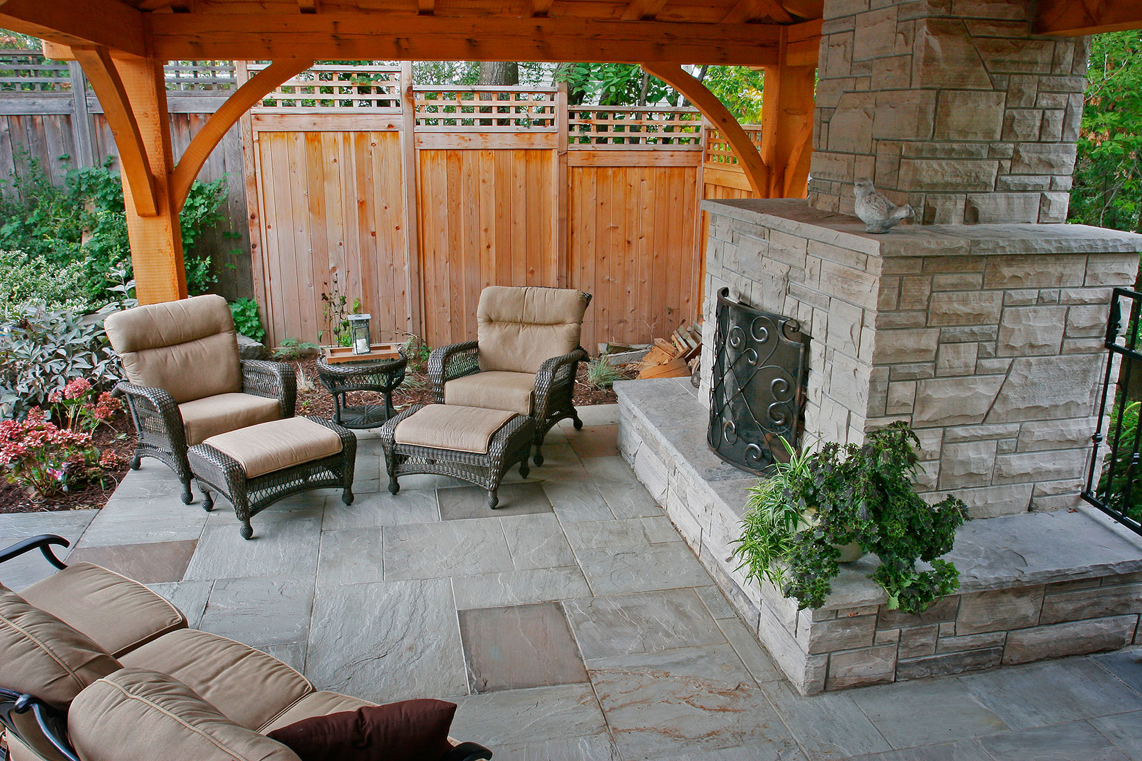 Gallery Natural Stone Landscaping Amp Masonry Projects
