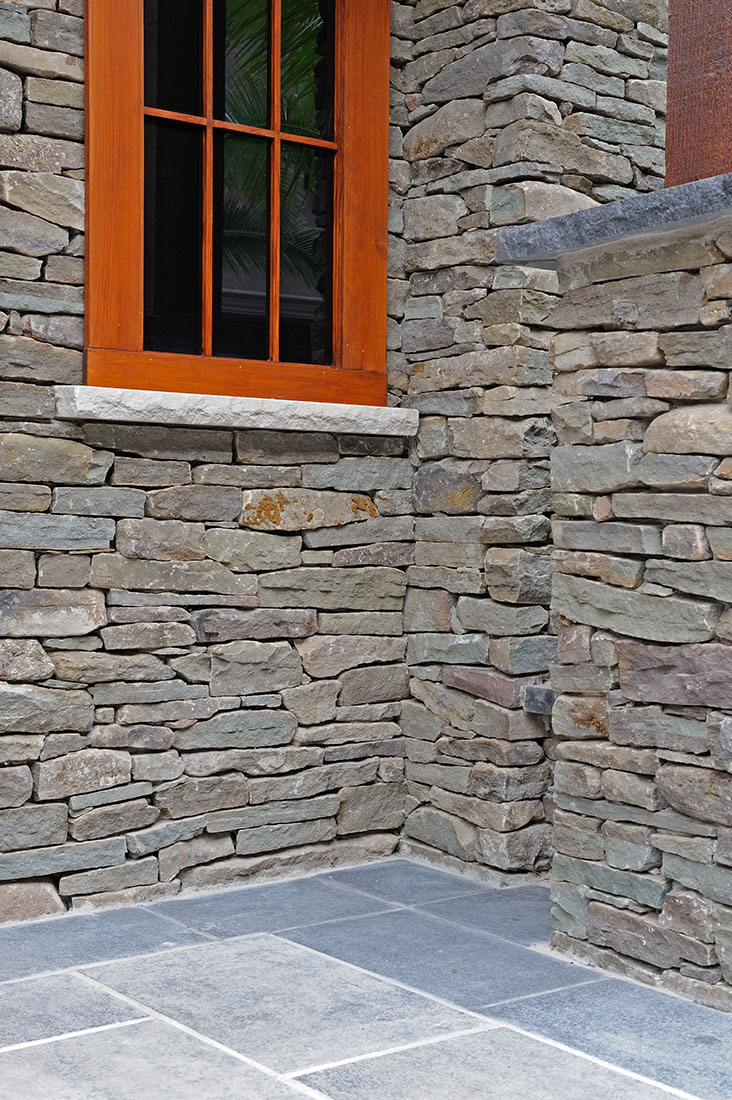 Building With Fieldstone : Pennsylvania fieldstone natural bed building stone