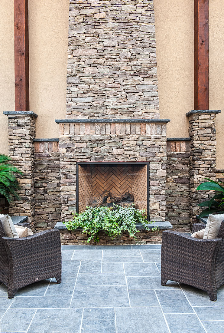 Pennsylvania Fieldstone Natural Bed | Building Stone