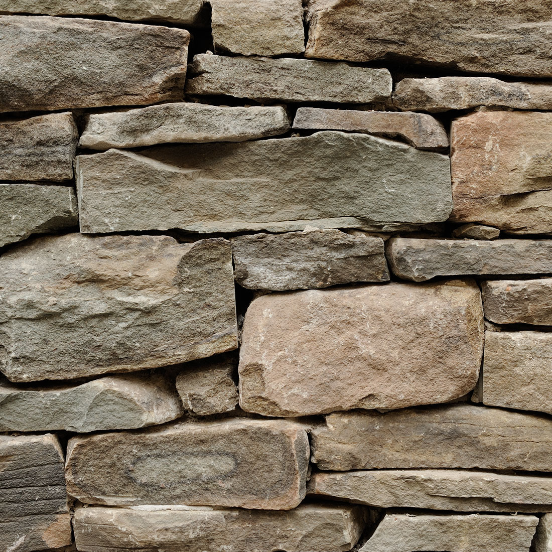 Natural Building Stones : Pennsylvania fieldstone natural bed building stone