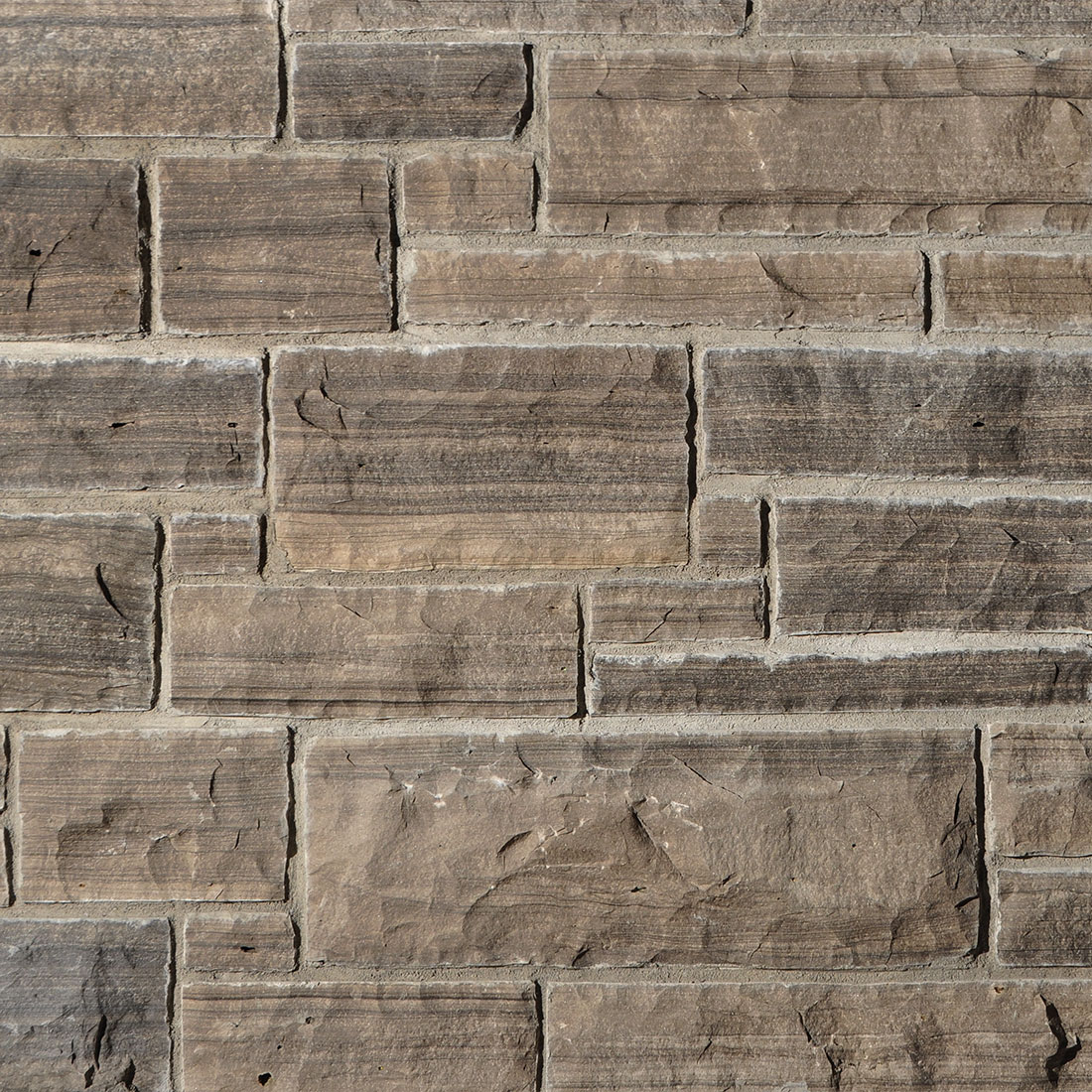Natural Building Stones : Wiarton natural bed building stone coursing ledgerock