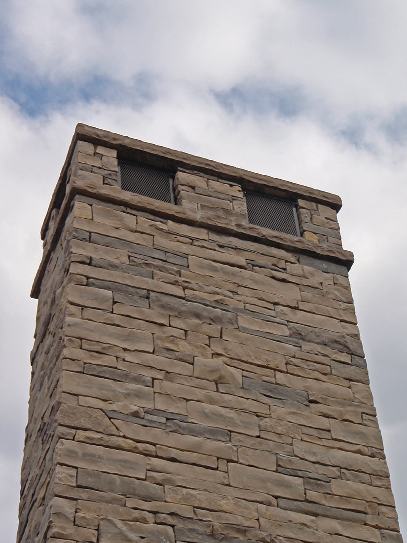 Building Stone Producers Association : Wiarton natural bed building stone coursing ledgerock