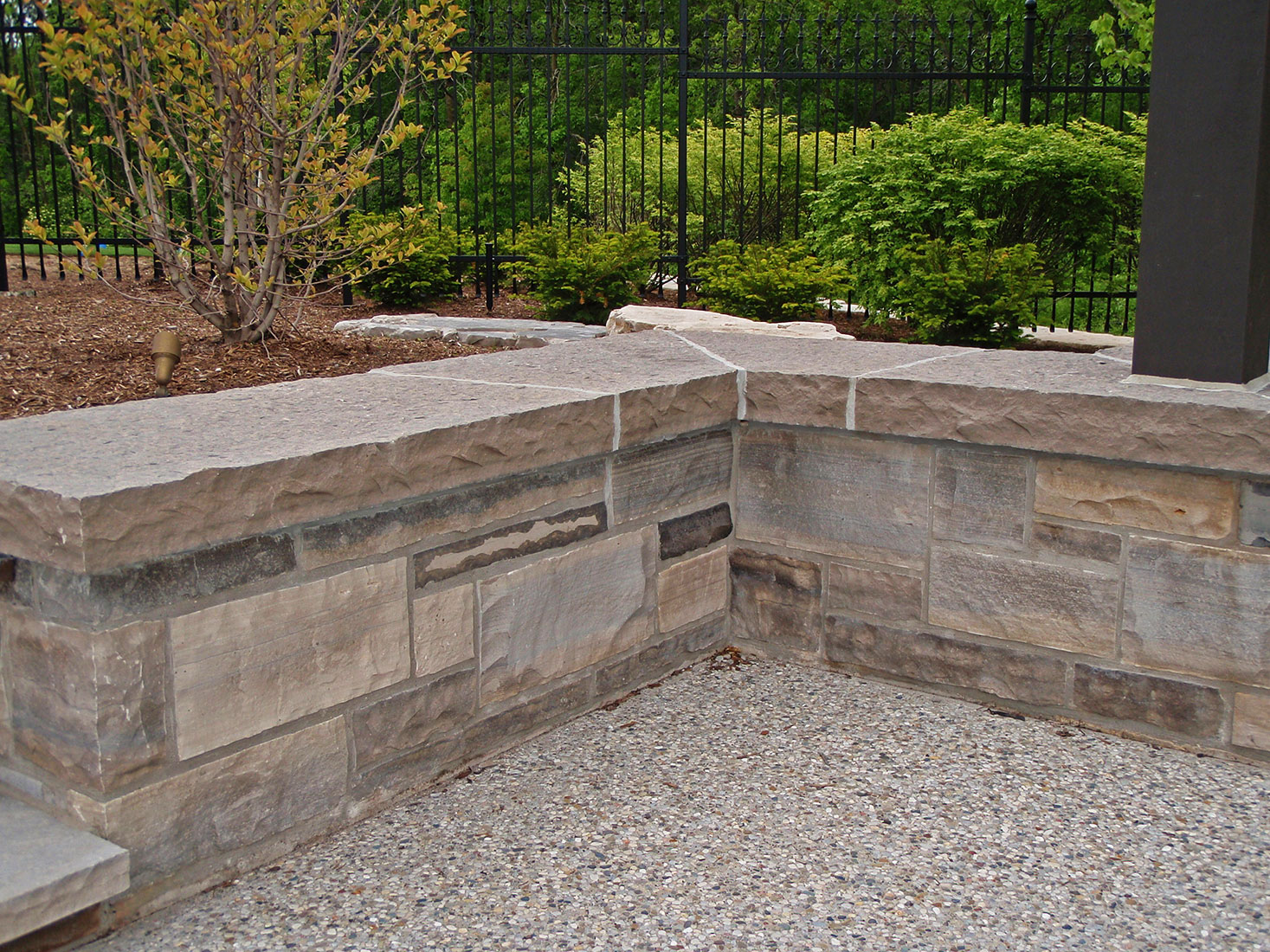 Wiarton Natural Bed Building Stone Coursing Ledgerock