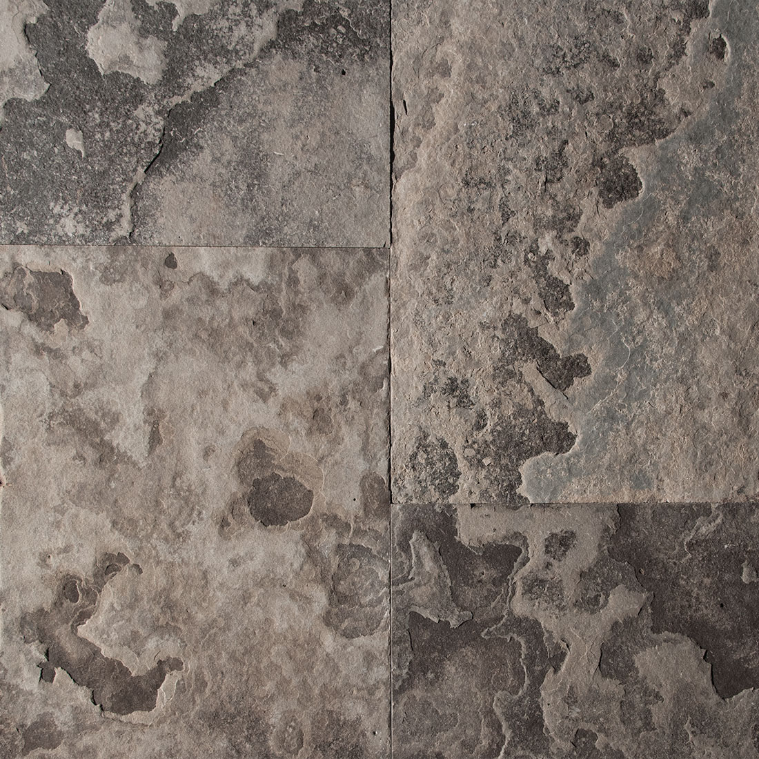 Eramosa flamed square cut flagstone paver swatch