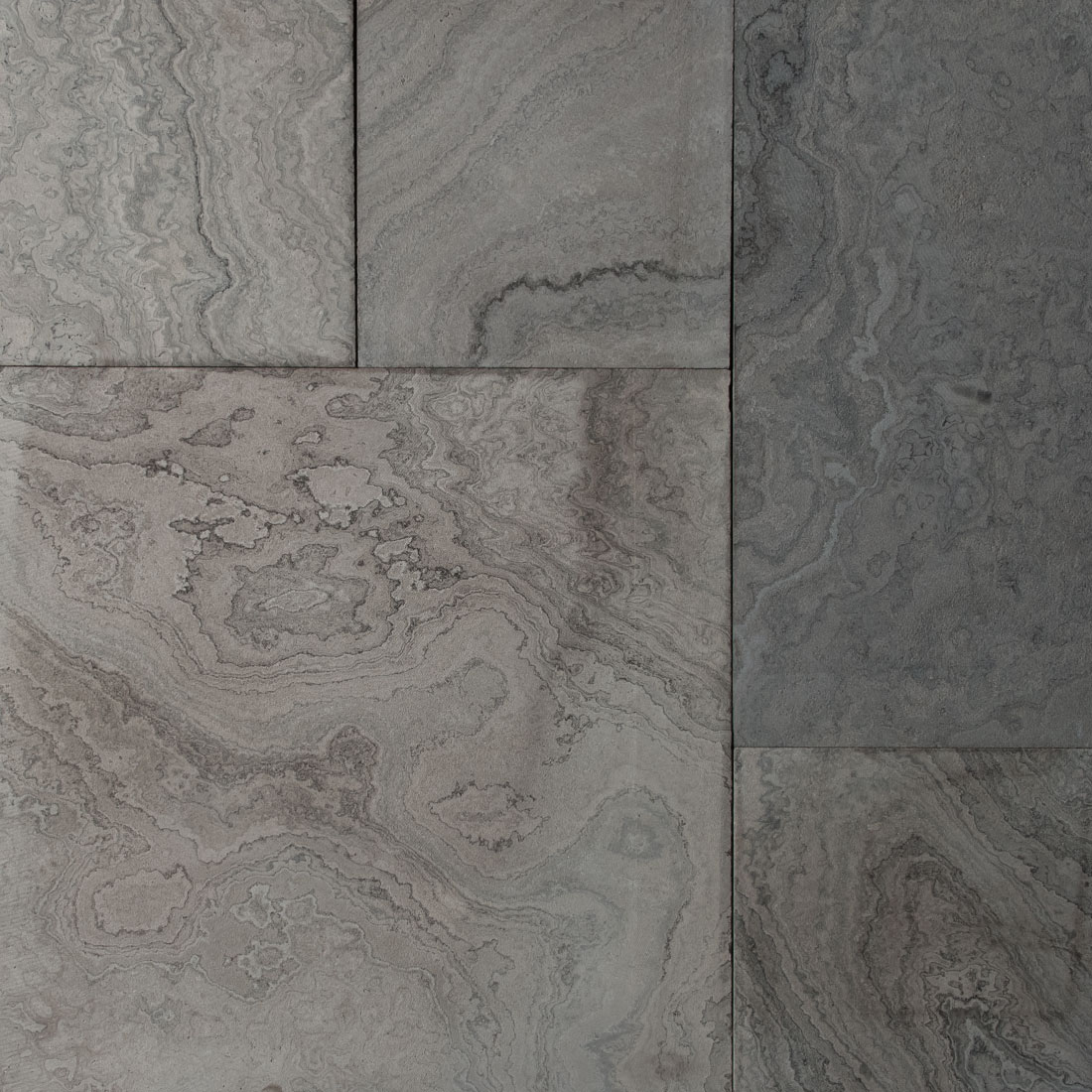 Eramosa sandblasted square cut flagstone paver swatch