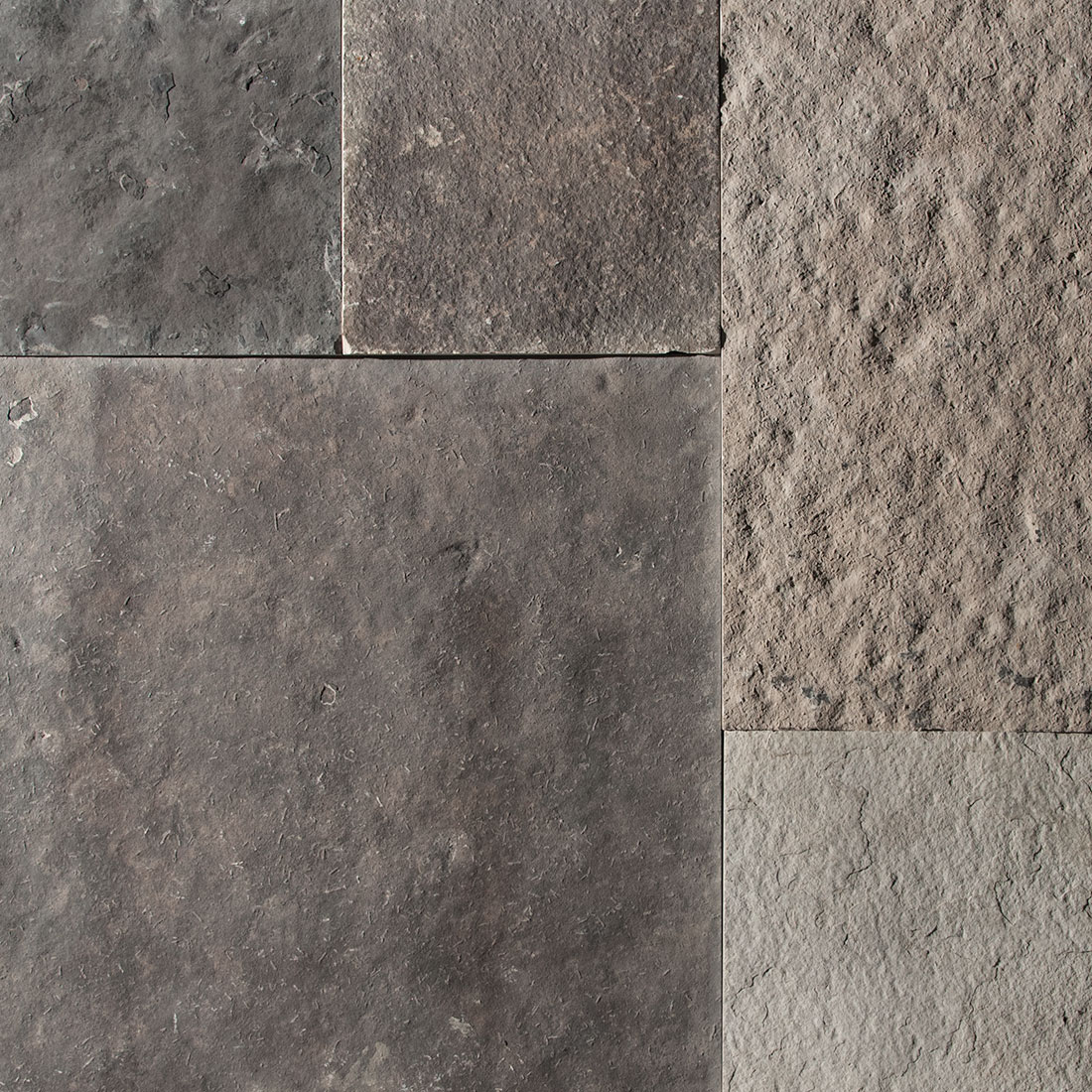 Wiarton natural square cut flagstone paver swatch