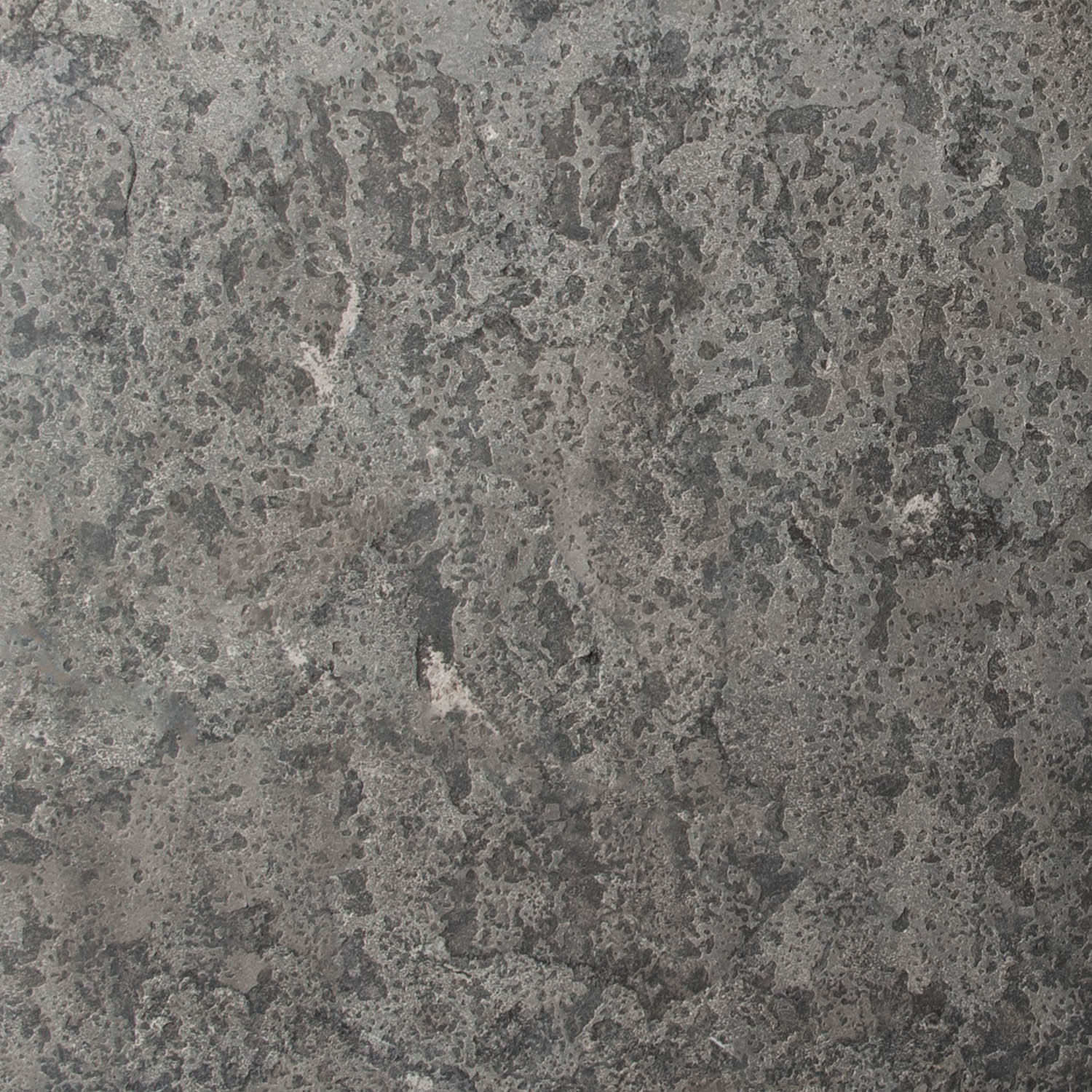 India Silver Grey guillotined step swatch