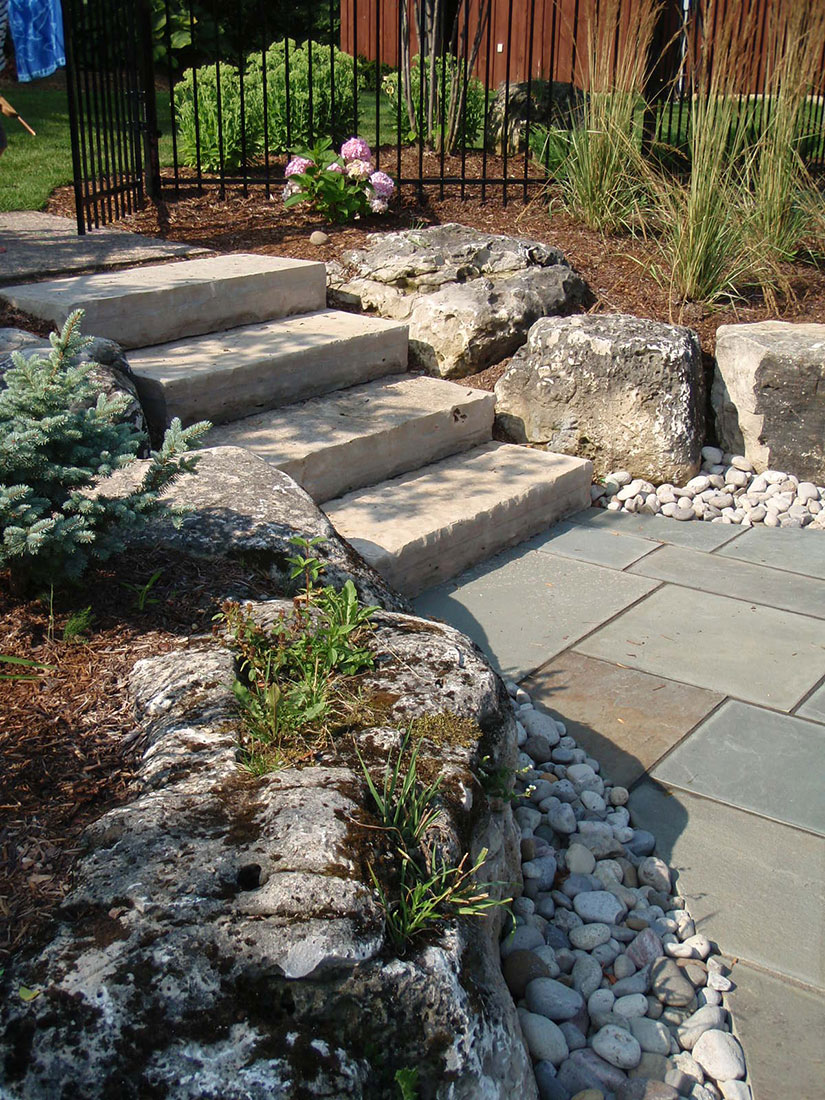 Wiarton Guillotined Step Natural Stone Stair Treads